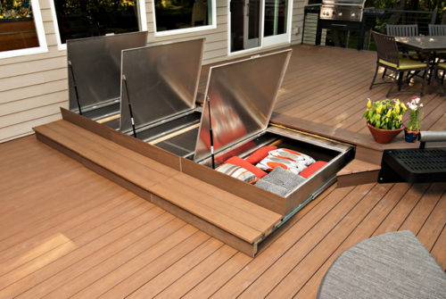 Deck Drawers Open